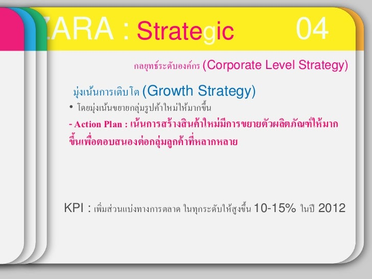 zara business level strategy Figure 61 : generic high-level structure of globally dispersed clothing   companies: the business model, the strategy, the strengths, the weaknesses, the.
