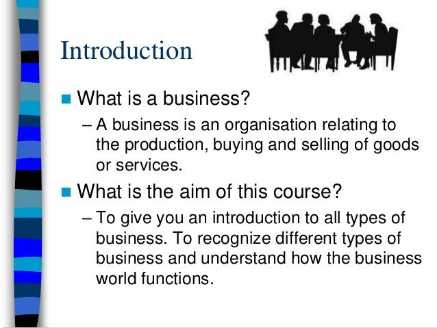 how to understand business studies