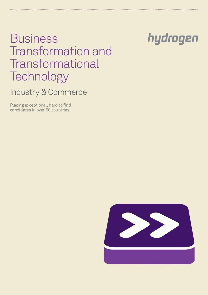 Business & Technology Transformation Hyd