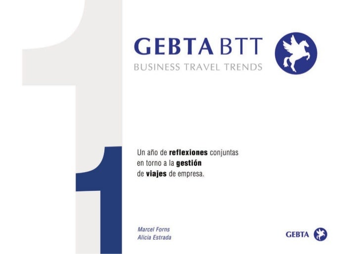 Business travel trends 2012 Gebta