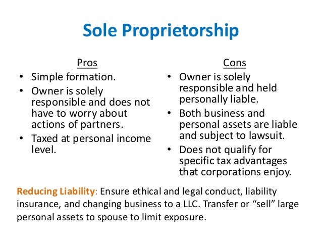 legal entities and sole proprietorship The short answer that question is no–at least not in the sense that it is a separate  legal entity like a partnership or corporation a sole proprietorship is a small.