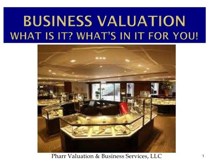 5 Major PointsPharr Valuation & Business Services, LLC   1