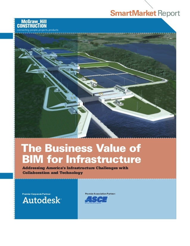 SmartMarket ReportThe Business Value ofBIM for InfrastructureAddressing America's Infrastructure Challenges withCollaborat...