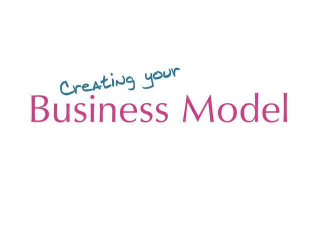 Business models explained (Canvas)