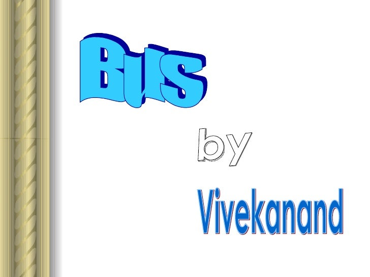 Bus by Vivekanand