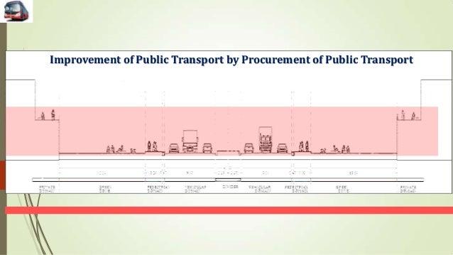 Improvement of Public Transport by Procurement of Public Transport 1