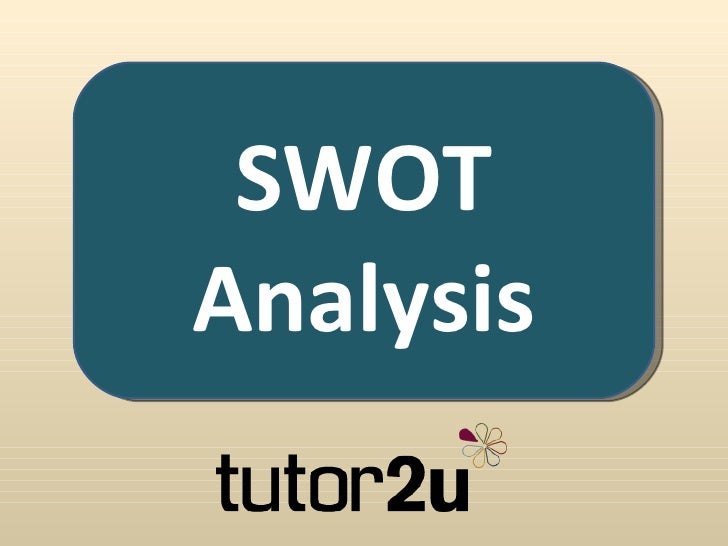 SWOTAnalysis