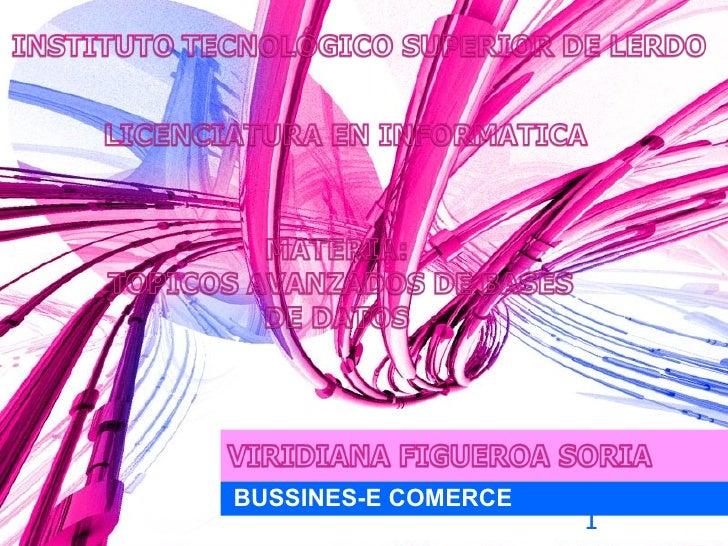 BUSSINES-E COMERCE