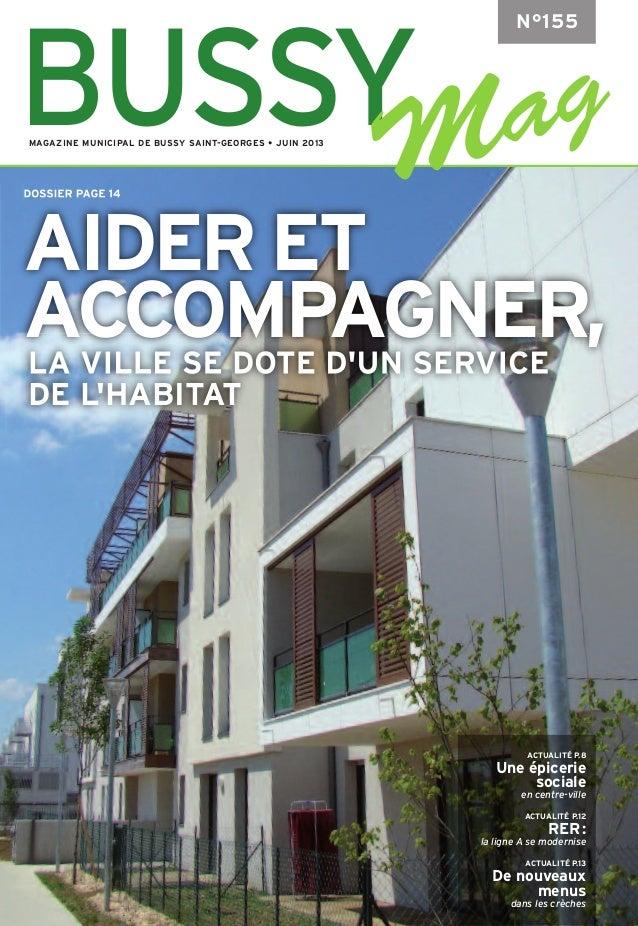 ACTUALITÉ P.8Une épiceriesocialeen centre-villeACTUALITÉ P.12RER:la ligne A se moderniseACTUALITÉ P.13De nouveauxmenusdans...