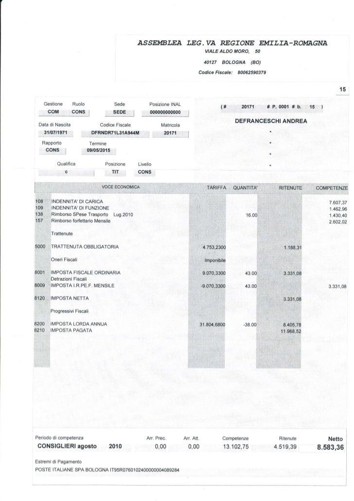ASSEMBLEA T.EG. UA REGTONE EMTLTA-ROMAGNA                                                                                 ...