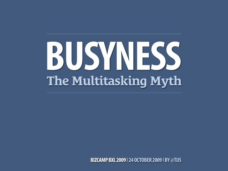 Busyness: GTD for business people