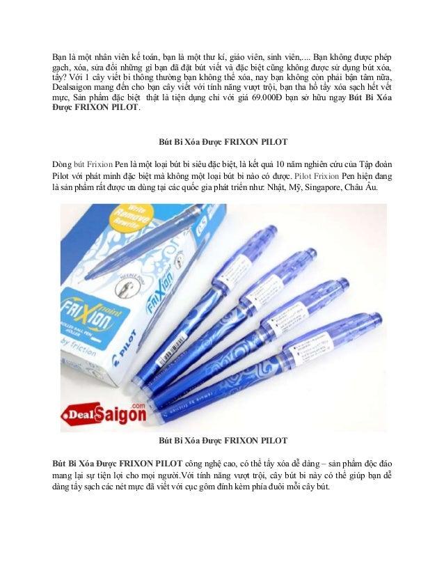 Bút Bi Xóa Được FRIXON PILOT