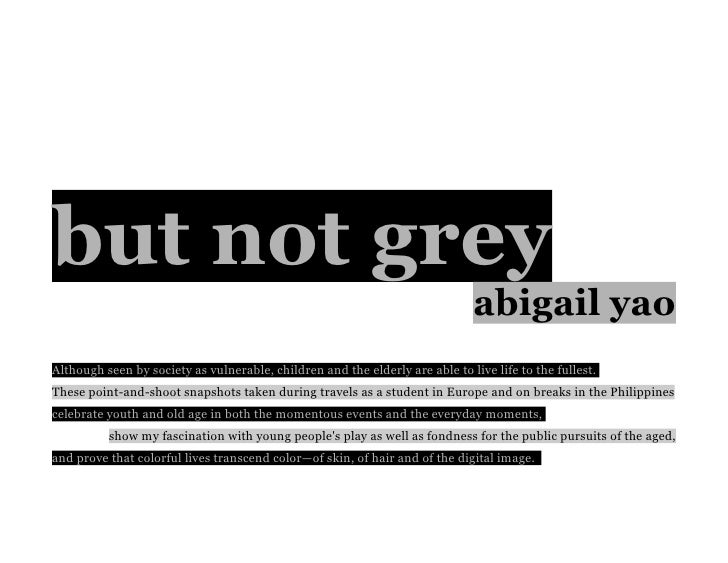 but not grey