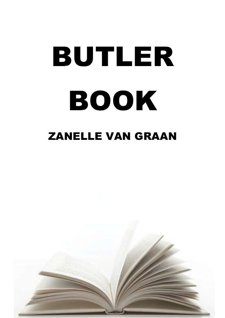 Butler book