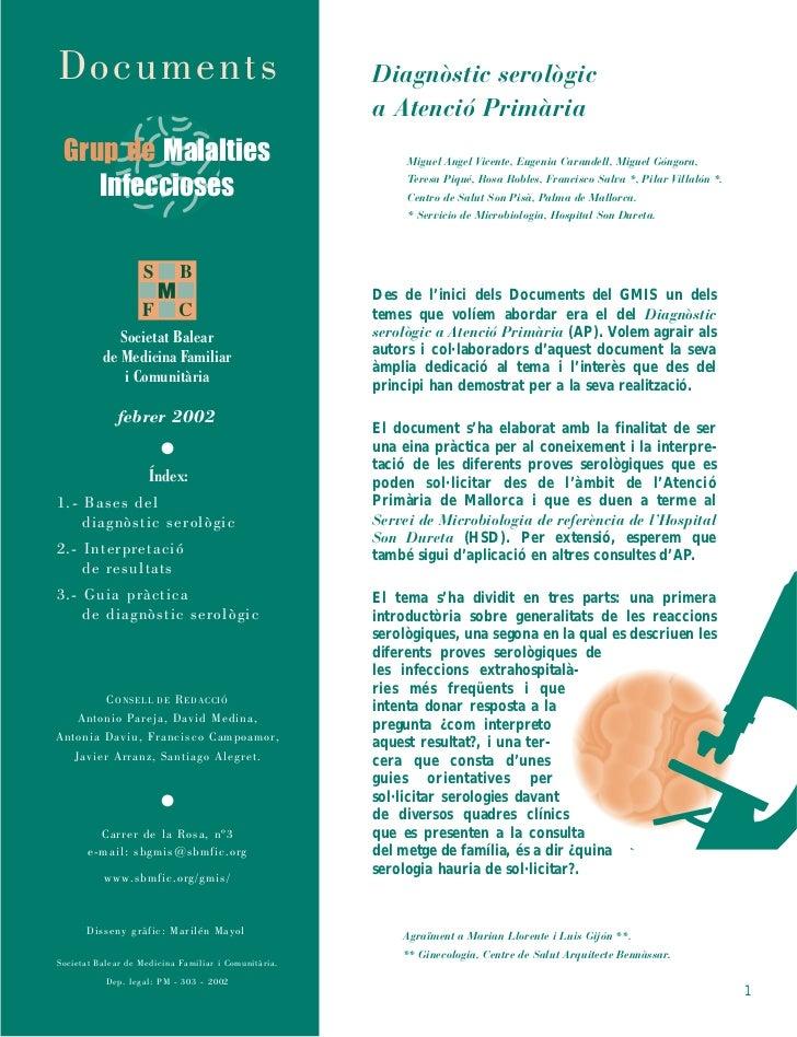 Documents                                             Diagnòstic serològic                                                ...
