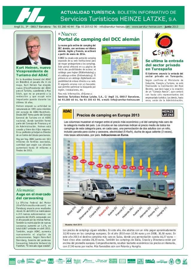 Anglí 31, 3º · 08017 Barcelona · Tel. 93 280 40 44 · Fax 93 205 63 90 · info@servitur-heinze.com · www.servitur-heinze.com...