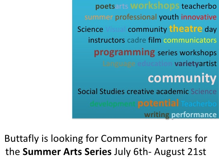 poetsarts workshops teacherbo                   summer professional youth innovative                 Science Visual commun...
