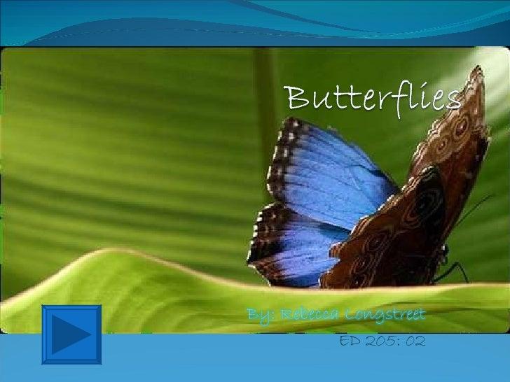 Butterflies Interactive Powerpoint