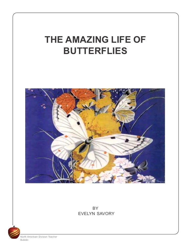 THE AMAZING LIFE OF                        BUTTERFLIES                                            BY                      ...