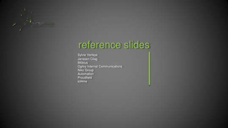Butterslides Presentation design PowerPoint