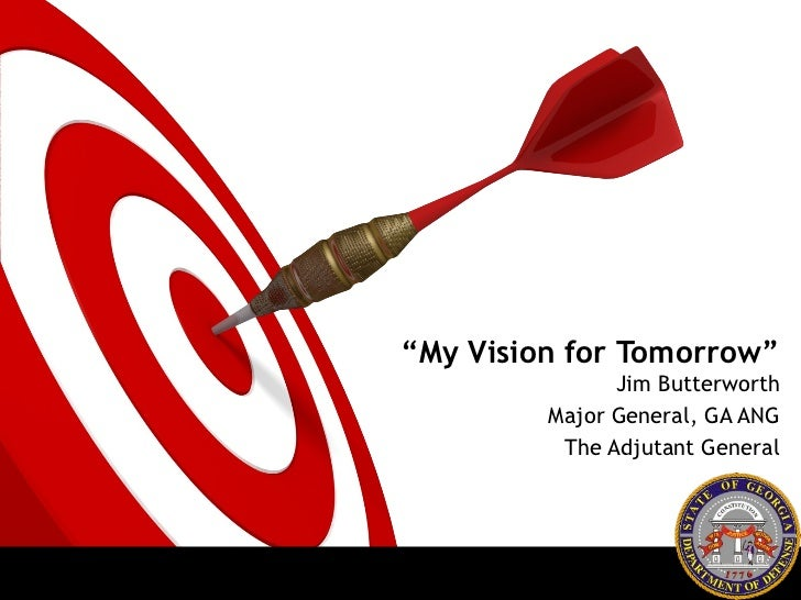 Adjutant General organizational vision - Slides