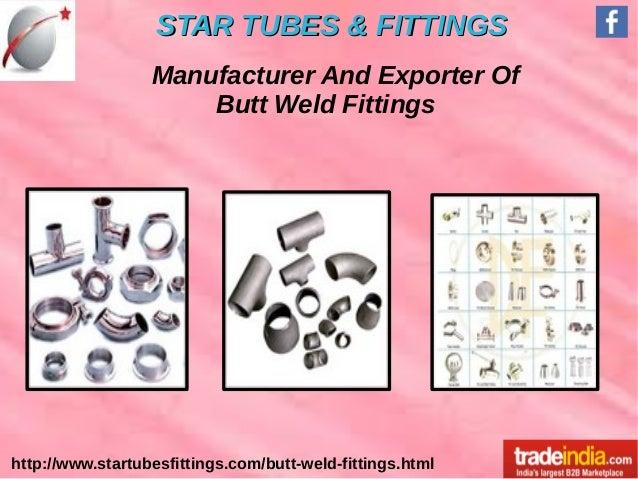 Butt Weld Fittings Exporter, Manufacturer, Mumbai