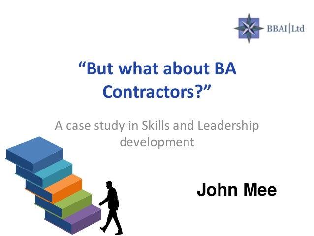 case study leadership development