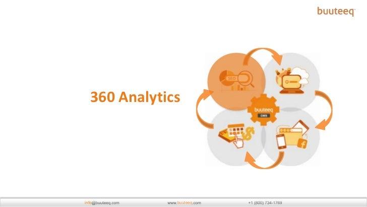 360 Analytics - Hospitality Business Analytics by buuteeq