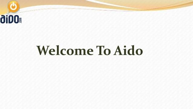 Welcome To Aido