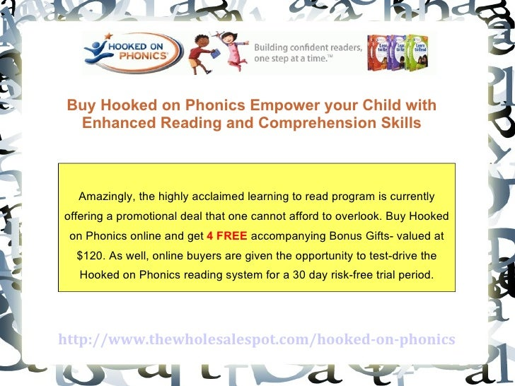 http://www.thewholesalespot.com/hooked-on-phonics Buy Hooked on Phonics Empower your Child with Enhanced Reading and Compr...