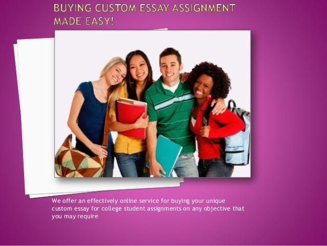 College essays buy