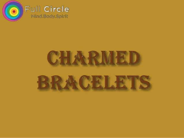 Buy Charmed Crystal Bracelets and Heal yourself at Full Circle Sg
