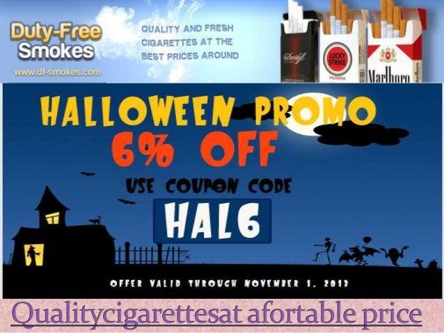 Cigarettes Marlboro online tax free store