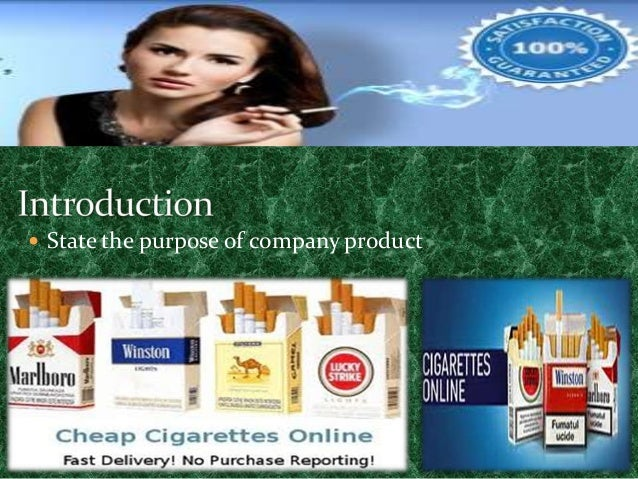 White filter cigarettes Winston USA