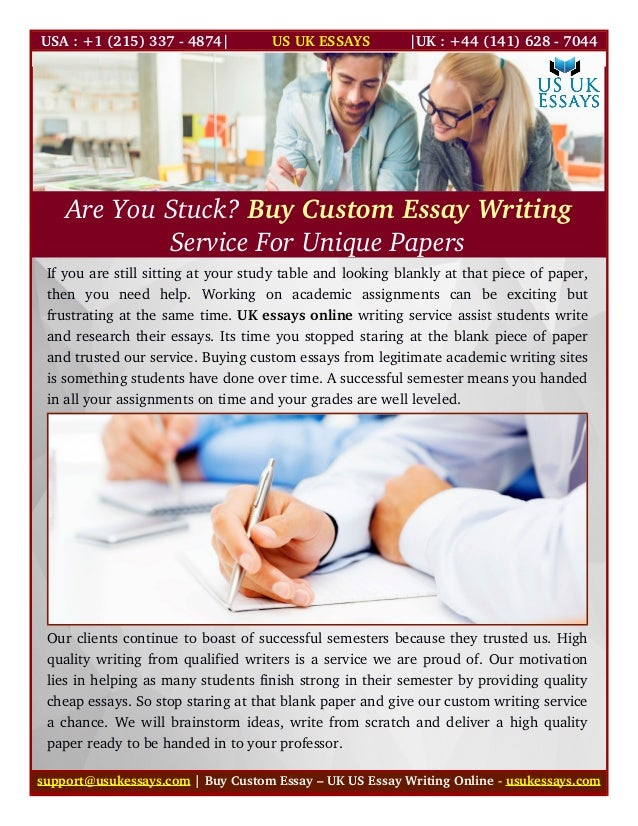 writing custom essay Are you a uk student looking to obtain custom essays of top-notch quality this is the number one service for you to consider great content, fine price.
