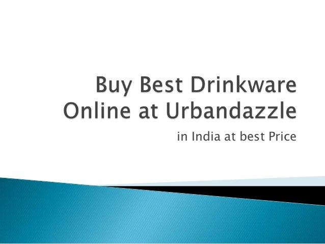 Buy  drinkware online in india