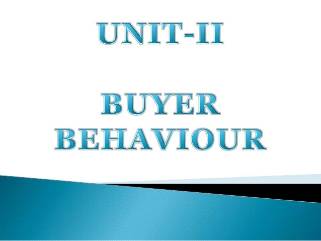 Behaviour can be defined as those acts of 'individuals' which are directly involved in making decisions to spend their ava...