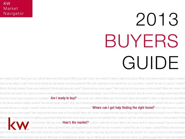 Am I ready to buy? How much can I afford? Where do I find homes? Why buy now? How's the market? Is there a right time to b...