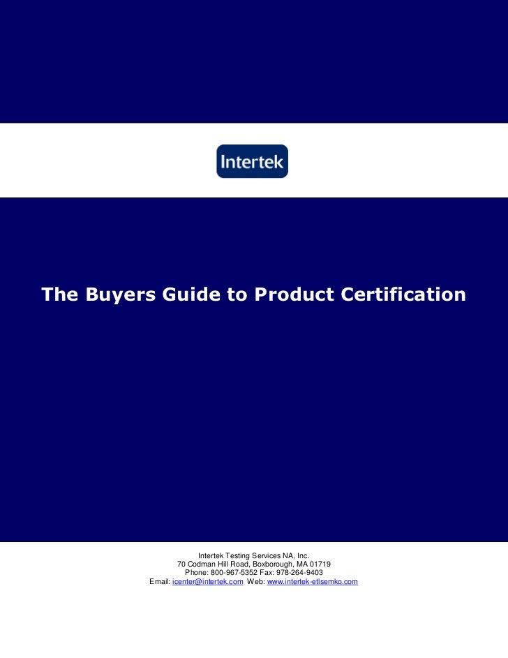Buyers guide plumbing