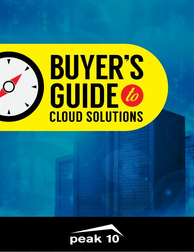 Buyers Guide To Cloud
