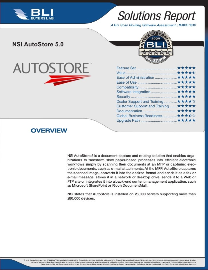 Buyers Lab Auto Store Review