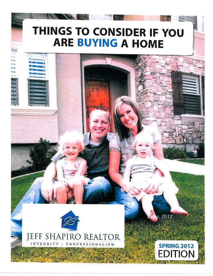 Buyer's Report: May 2012
