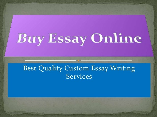 buy an essay