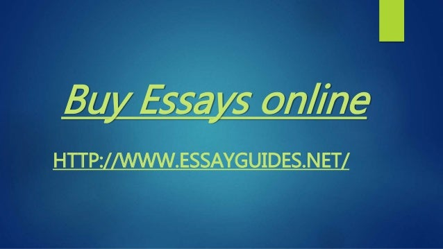 Where to buy essays online