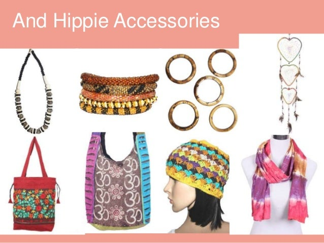 Beautiful and hippie clothes with accessories Vector | Premium ...