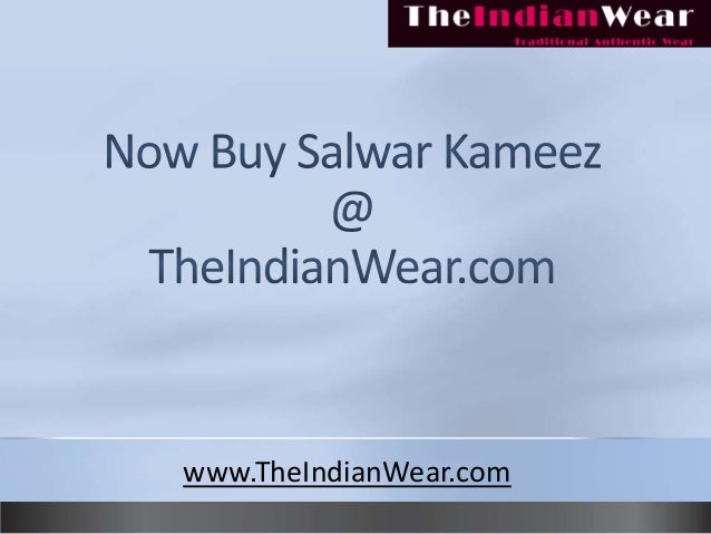 Buy indian salwar kameez at theindianwear.com