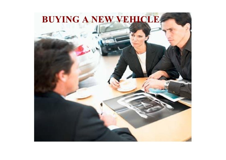 cons30S Vehicles - Buying A New Vehicle