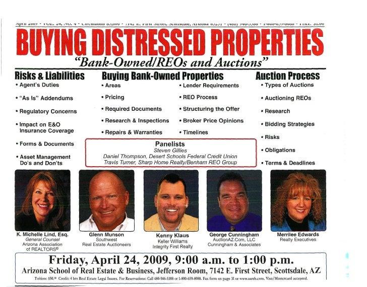 Buying Distressed Properties Workshop