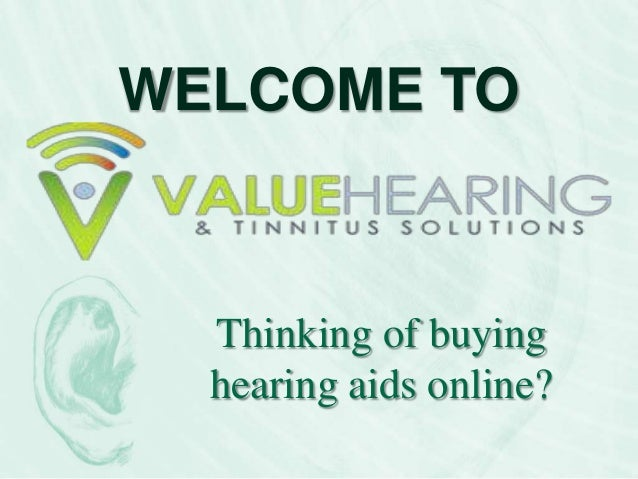 Buying hearing aids online