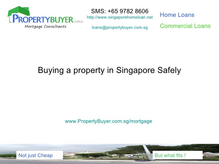 Safe property buying process
